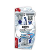 Schick Quattro Titanium for Men Smooth Disposable Razor