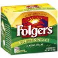 Folgers Classic Roast Decaffeinated Coffee Singles