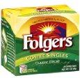 Folgers Classic Roast Decaffeinated Coffee Singles
