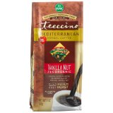 Teeccino Mediterranean Vanilla Nut Herbal Coffee, Ground