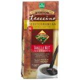 Teeccino Mediterranean Vanilla Nut Herbal Coffee, Ground