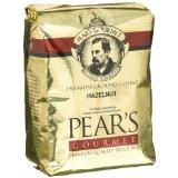 Pear's Gourmet 100% Arabica Hazelnut Coffee, Ground