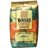 Boyer's Coffee Kenya AA-Kirinyaga Estate, 16-Ounce Bags