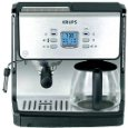 Krups XP2070 Programmable 10-Cup Coffeemaker/15-Bar Pump Espresso Machine