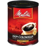 Melitta 100% Colombian Supreme Ground Coffee