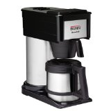 BUNN BTX-B ThermoFresh 10-Cup Thermal-Carafe Home Coffee Brewer, Black