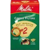 Melitta #622752 100 Count #2 Brown Cone Filter