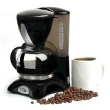 Elite Cuisine 4-Cup Pause-'n-Serve Coffeemaker- EHC2022