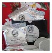 Coffee Club Gift! USDA Certified Organic Coffee Pods - 6 Month Pod Club; 36 Pods per Month; Exclusively from Aloha Island
