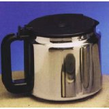 Medelco SS412 12 Cup Universal Stainless Steel Replacement Coffee Carafe