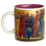 Laurel Burch Santa Fe Felines Mug