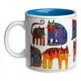 Laurel Burch Fantastic Felines Mug