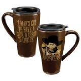 John Wayne Travel Mug