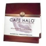 Café Halo 100% Colombian Coffee Pods, 16-Count, 4.23 Ounce Bags (Pack of 6)