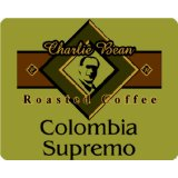 Charlie Bean Colombia Supremo, Whole Bean, Chaparral Gourmet Coffee