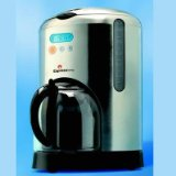 Espressione CM-475 Digital-Filter 10-Cup Coffeemaker, Stainless Steel