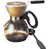 Northwest Glass Yama CD-5 20 Ounce One Cup Coffee Maker - Clear Glass