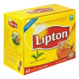 Lipton Black Tea, 100% Natural, Tea Bags