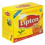 Lipton Black Tea, 100% Natural, Tea Bags