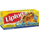 Lipton, Black Tea, Cold Brew, Pitcher Size, Tea Bags