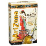 AriZona Green Tea with Ginseng Sugar Free Iced Tea Stix