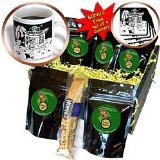 Londons Times Funny Food Coffee other Digestibles - Starbucks Is Everywhere - Coffee Gift Baskets