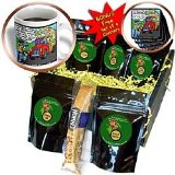 Londons Times Funny Society Cartoons - Nervous Starbucks Driver Gets Citatation Coffee Gift Basket