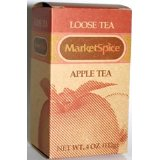 Apple Tea, Loose Leaf, 4 Oz Box