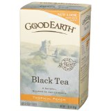 Good Earth Black Tea, Tropical Peach Tea Bags