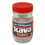 Kava Instant Coffee, 4-Ounce Glass Jars (Pack of 4)