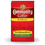 Community Coffee New Orleans Blend Ground Decaffeinated Coffee With Chicory