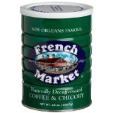 French Market Coffee & Chicory Decaffeinated