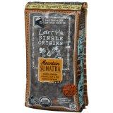 Larrys Beans Fair Trade Mountain Sumatra Whole Bean Organic Coffee