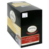 Twinings Decaffeinated English Breakfast Tea K-Cups