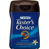 Nescafe Tasters Choice, Vanilla