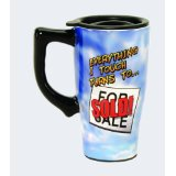 Realtor Real Estate Broker for Sale Sold Coffee or Tea Travel Cup