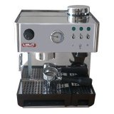 LELIT PL042LET Classic Style Espresso Maker with integrated Coffee Grinder