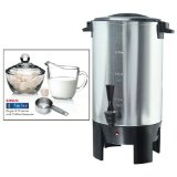 Professional Series COFURN Stainless-Steel 30-Cup Coffee Urn