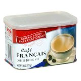 General Foods International Coffee, Cafe Francais French Style Coffee Drink Mix