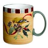 Lenox Winter Greetings Everyday Stoneware Goldfinch Mug