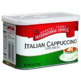 General Foods International Coffee, Italian Cappuccino Drink Mix