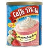 Caffe D'Vita Banana Strawberry Fruit Cream Smoothie