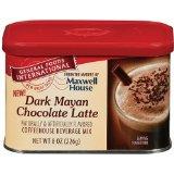 General Foods International Dark Mayan Chocolate Latte Coffee Drink Mix