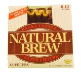 Natural Brew Basket Style Coffee Filters