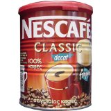 Nescafe Classic Instant Greek Coffee Decaf