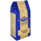 Ghirardelli Caffe Gourmet Coffee White Chocolate Almondine