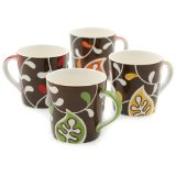 Hues&Brews 18-Ounce Mugs Set of 4