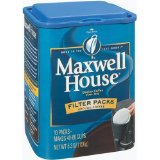 Maxwell House Ground Coffee, Filter Pack
