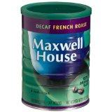 Maxwell House Decaf French Roast (Medium Dark) Ground Coffee