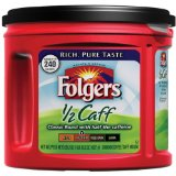 Folgers Half Caffeinated Ground Coffee
